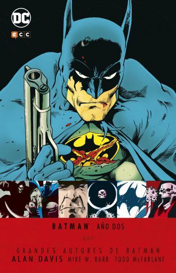 Portada del libro Batman: Año Dos