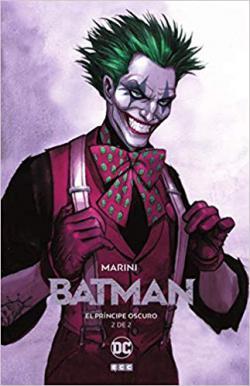Portada del libro Batman. El principe oscuro. Tomo 2.