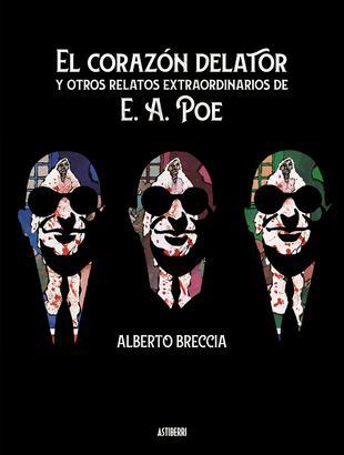 Portada del libro El corazón delator y otros relatos extraordinarios de E. A. Poe