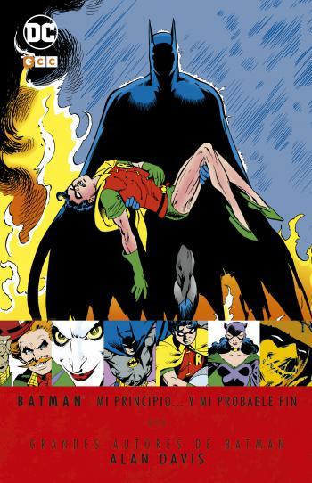 Portada del libro Batman: Mi principio... y mi probable fin