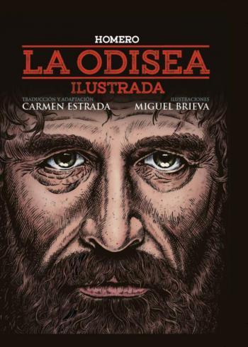 Portada del libro La Odisea (Ilustrada)