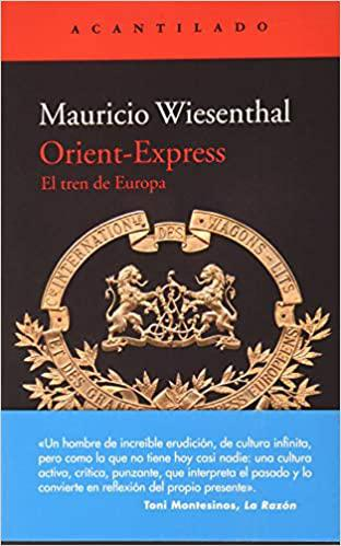 Portada del libro Orient-Express. El tren de Europa