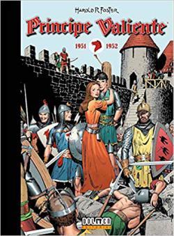 Portada del libro Príncipe Valiente 1951-1952