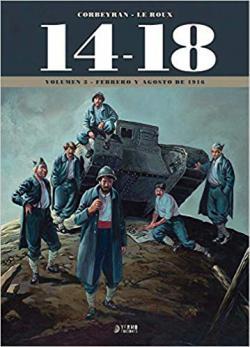 Portada del libro 14-18 Vol. 3 (Febrero Y Agosto De 1916)