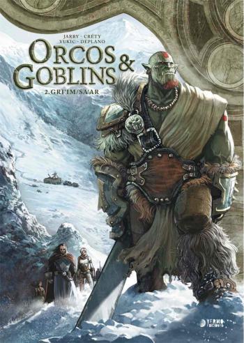 Portada del libro Orcos y Goblins 2