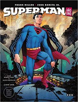 Portada del libro Superman año uno. Libro uno