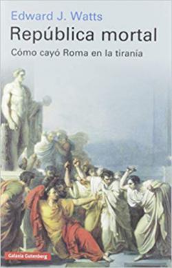 Portada del libro República mortal