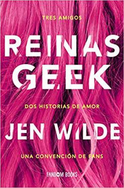 Portada del libro Reinas Geek