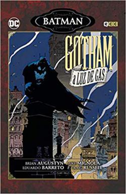 Portada del libro Batman: Gotham a luz De Gas