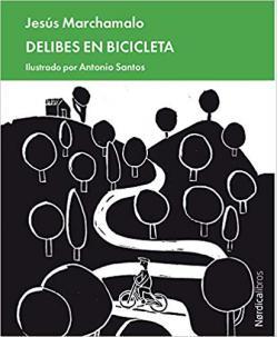 Portada del libro Delibes en bicicleta