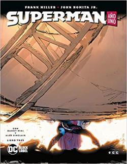 Portada del libro Superman: Año uno. Libro tres
