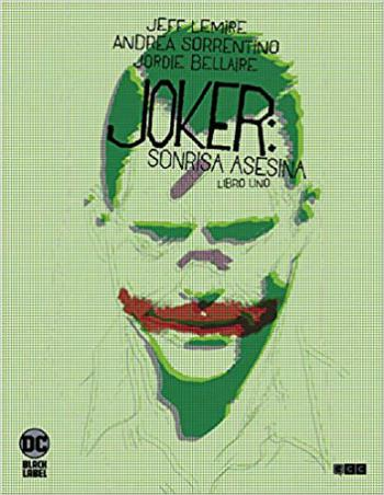 Portada del libro Joker: sonrisa Asesina Vol. 1