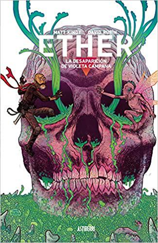 Portada del libro Ether 3. La desaparición de Violeta Campana