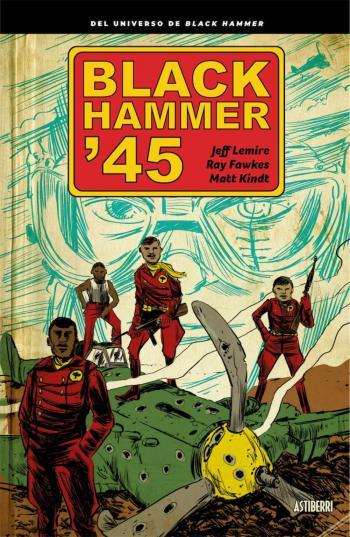Portada del libro Black Hammer 45