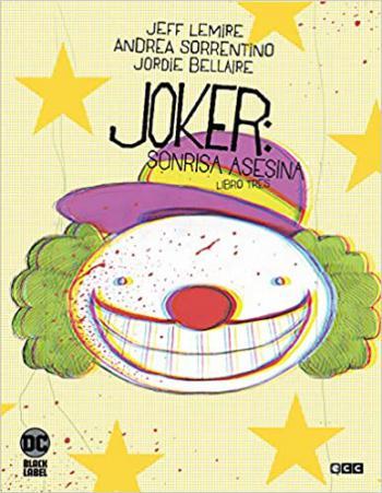 Portada del libro Joker: sonrisa Asesina Vol. 3