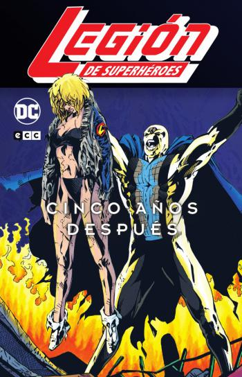 Portada del libro Legión de Superhéroes: 5 años después vol. 3