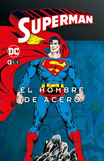 Portada del libro Superman: El hombre de acero (Superman Legends 1)