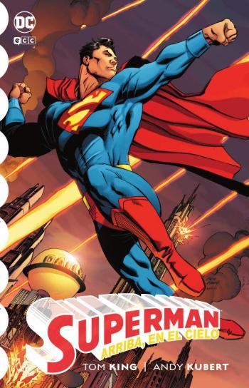 Portada del libro Superman: Arriba, en el cielo