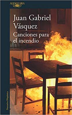Portada del libro Canciones para el incendio