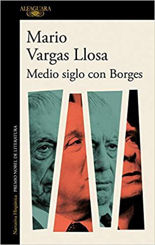 Portada del libro Medios siglo con Borges