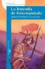 Portada del libro LA LEYENDA DE ROSTROAZULADO JAEN 2001