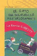 Portada del libro EL GATO QUE DESAPARECIO MISTERIOSAMENTE