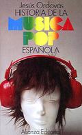 Portada del libro Historia de la musica pop española