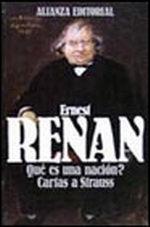 Portada del libro ¿Que es una nacion? Cartas a Strauss