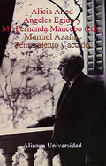 Portada del libro Manuel Azaña: Pensamiento y accion