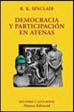 Portada del libro Democracia y participacion en Atenas