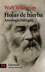 Portada del libro Hojas de hierba. Antologia bilingue