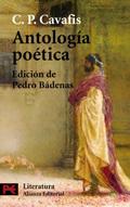 Portada del libro Antologia poetica