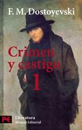 Portada del libro Crimen y castigo, 1