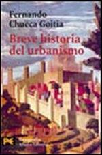 Portada del libro Breve historia del urbanismo