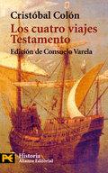 Portada del libro Los cuatro viajes. Testamento