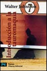 Portada del libro Introduccion a la tauromaquia