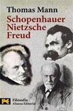 Portada del libro Schopenhauer, Nietzsche, Freud