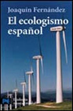 Portada del libro El ecologismo español