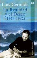Portada del libro La realidad y el deseo (1924-1962)