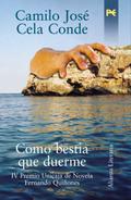 Portada del libro Como bestia que duerme Premio Quiñones 2002 Editorial Alianz
