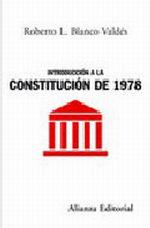 Portada del libro Introduccion a la Constitucion de 1978