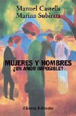 Portada del libro Mujeres y hombres, ¿un amor imposible?