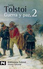 Portada del libro Guerra y paz, 2