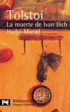 Portada del libro La muerte de Ivan Ilich. Hadyi Murad