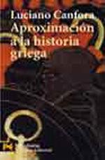 Portada del libro Aproximacion a la historia griega