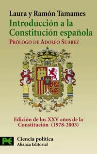 Portada del libro Introduccion a la Constitucion Española (Texto y comentarios