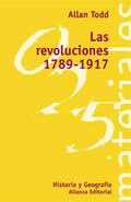 Portada del libro Las revoluciones (1789-1917)