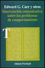 Portada del libro Intervencion comunicativa sobre los problemas del comportami