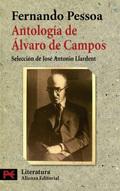 Portada del libro Antología de Álvaro Campos