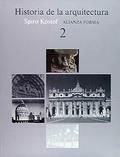 Portada del libro Historia de la arquitectura, 2
